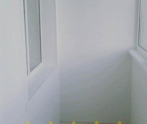 отделка лоджии панелями
