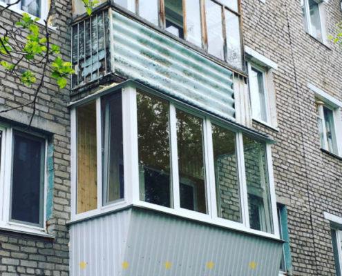 Башбалкон - застеклить балкон в уфе застекление балконов - ц.