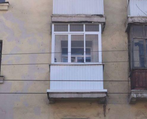остекление маленького балкона