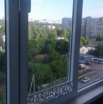 установка окон на балконе