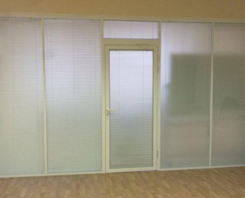 офисные перегородки с алюминиевым профилем 12