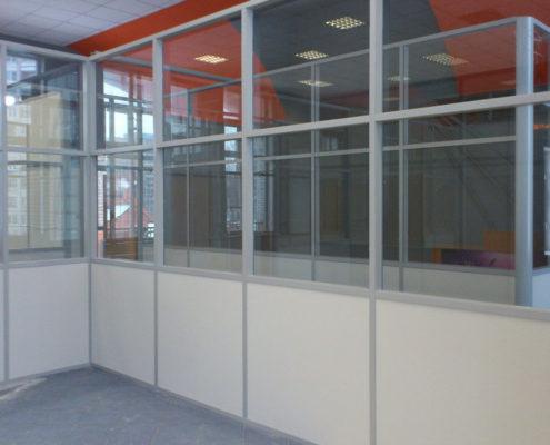 офисные перегородки с алюминиевым профилем 11