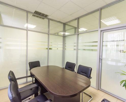 офисные перегородки с алюминиевым профилем 3