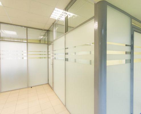 офисные перегородки с алюминиевым профилем 2