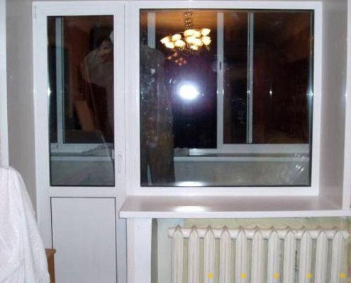 двери на балкон 66