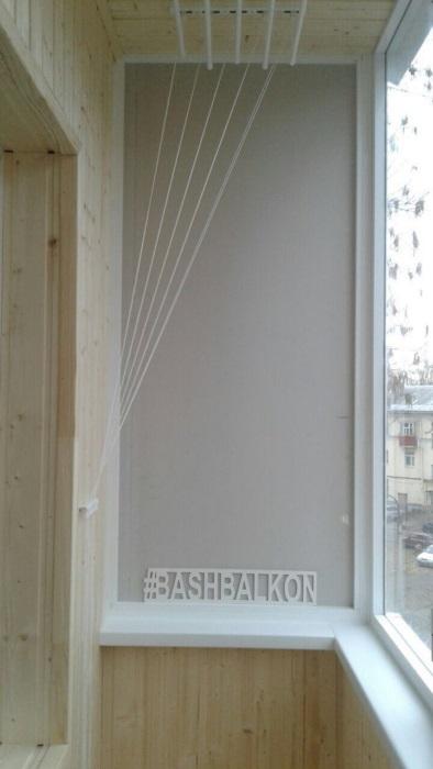 отделка и обшивка балкона