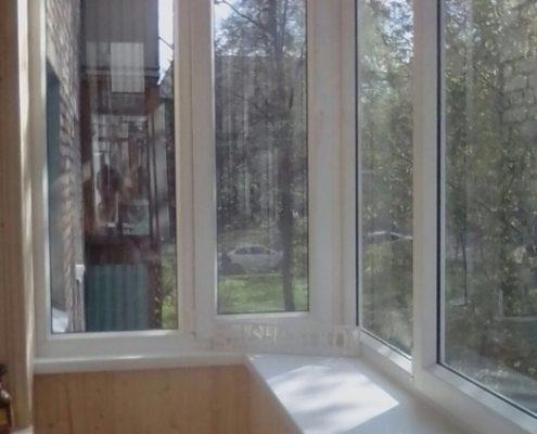 застекление и обшивка балкона