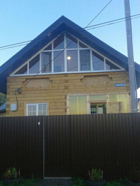 застекление деревянного дома