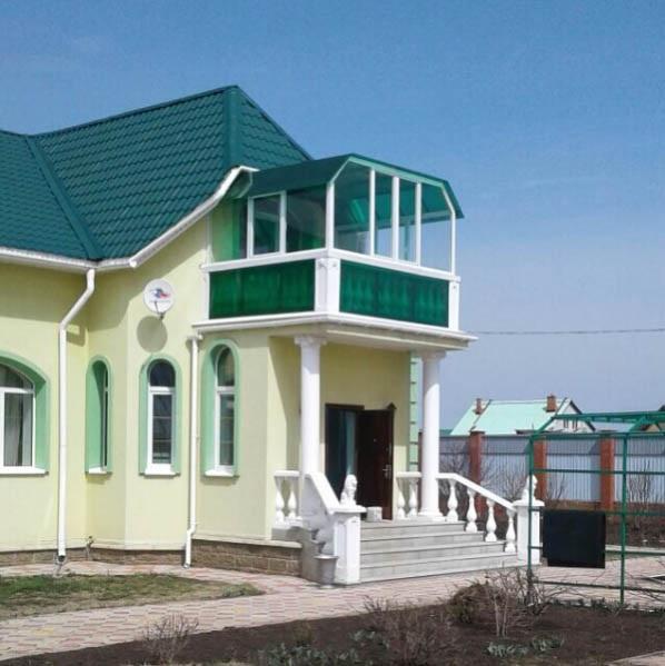 остекление балкона частного дома