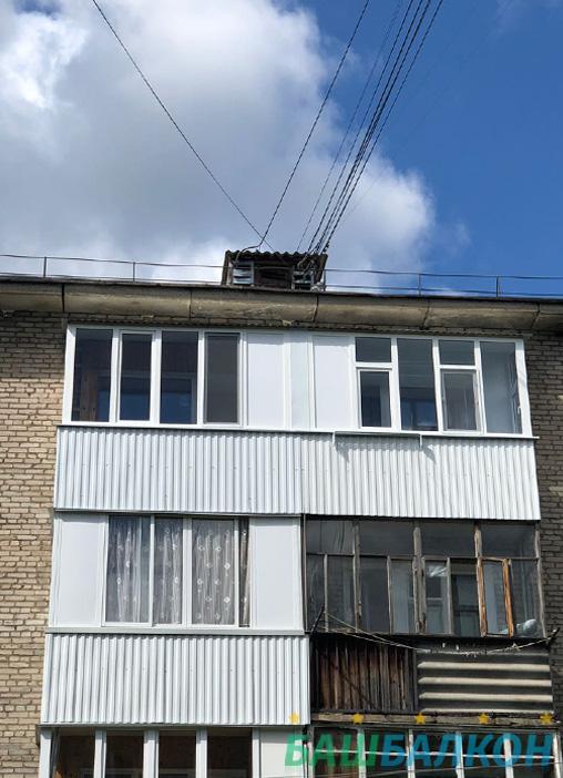 наши работы балкон 3