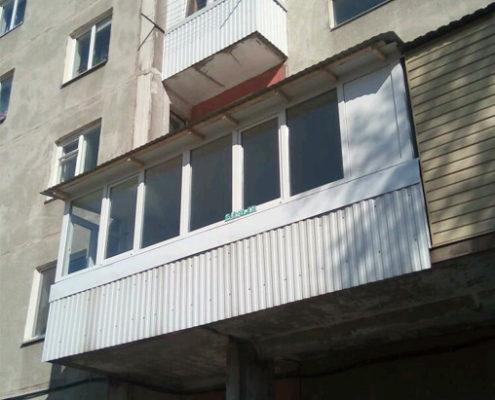 наши работы балкон 4