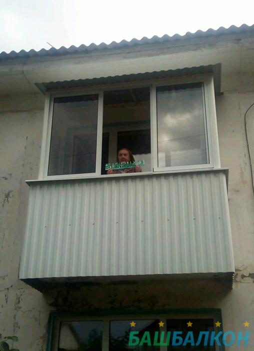 наши работы балкон 6
