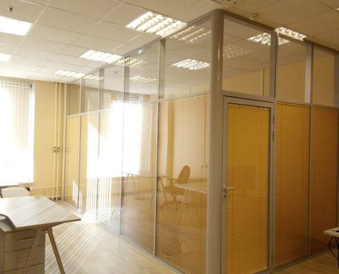 офисные перегородки с алюминиевым профилем 7