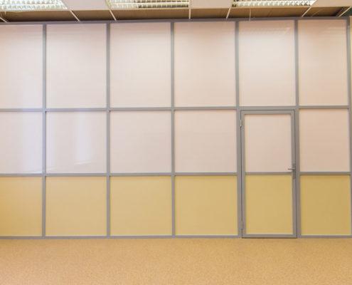 офисные перегородки с алюминиевым профилем 6