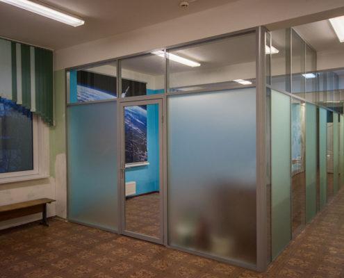 офисные перегородки с алюминиевым профилем 5