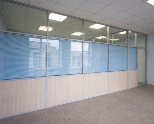 офисные перегородки с алюминиевым профилем 4
