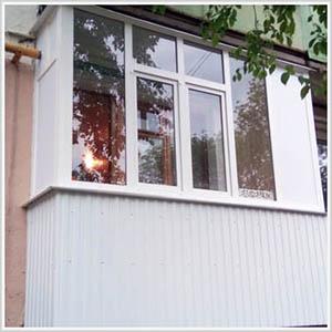 наши работы балконы