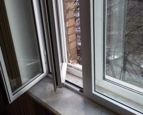 Застекление окна вторым контуром