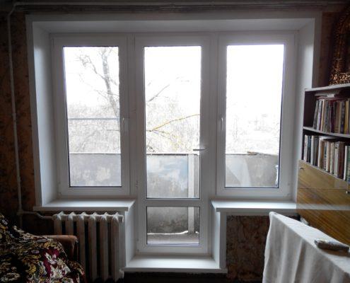 Выход на балкон в хрущевке