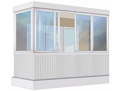 алюминиевые окна установка