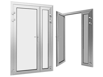 алюминиевые двери в частный дом